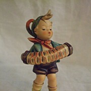SALE Hummel Goebel Accordion Boy #185 TMK 6