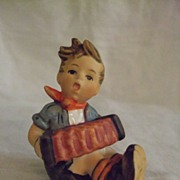 SALE Hummel Boy with Accordion #392 TMK 6