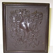 Antique Gutta Percha Daguerreotype Union Case Only