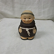 SALE Vintage Goebel Monk Friar Tuck Jam Jar