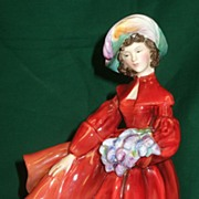 SALE Royal Doulton �Lilac Time� Figurine HN 2137