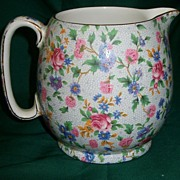 SALE Grimwades Royal Winton Old Cottage Chintz Jug Pitcher