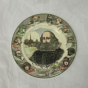SALE Vintage Royal Doulton Series Ware William Shakespeare Plate D6303