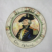 Vintage Royal Doulton Series Ware Rack Plate The Admiral D6278