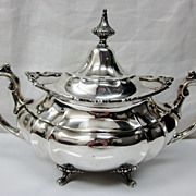 1950 Reed & Barton Hampton Court Sterling Silver Sugar Bowl