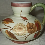 Gorgeous Rudolstadt German Hand Painted Porcelain Pitcher