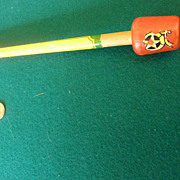 1960's Shriners / Masonic Parade Cane. Carnival Cane.