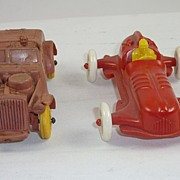 Toy Cars, Auburn Rubber  &  Speedster