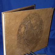 Album / Diary / Scrap Book  for Hunters,  Ruffed Grouse, by Donna Sea Ent.