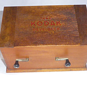 Eastman Kodak Tank Developer, 1905, Rochester NY,  Brownie Cameras