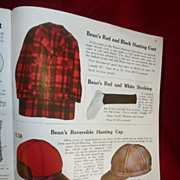 1939 L.L. Bean Catalogue, All Original, Bean Boots, Pack Baskets, etc