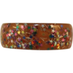 1970's Bright Multi-Colored Confetti Thermoplastic Bracelet