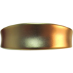 1980's Brushed Gold-Tone Hinged Bracelet