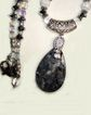 Crystal Spear & Hematite Necklace