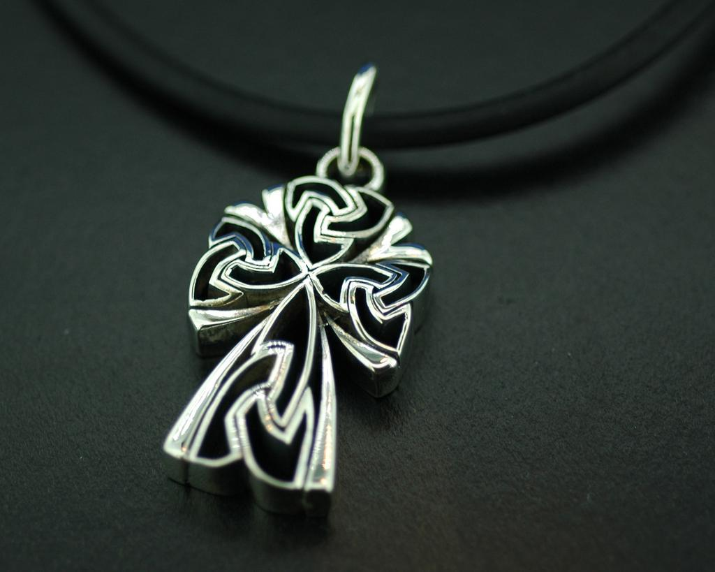Sterling Silver Celtic Cross Pendant#14