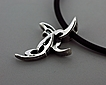 Sterling Silver Tribal Cross #3