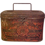 Penny Post Cut Plug Tobacco Tin/Lunch Pail