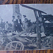 SALE Wonderful Early 1900�s Wreck Photo
