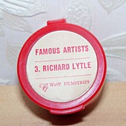 SALE Richard Lytle Famous Artists Filmstrip