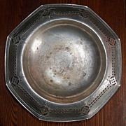 SALE Vintage Silverplated Calling Card Tray