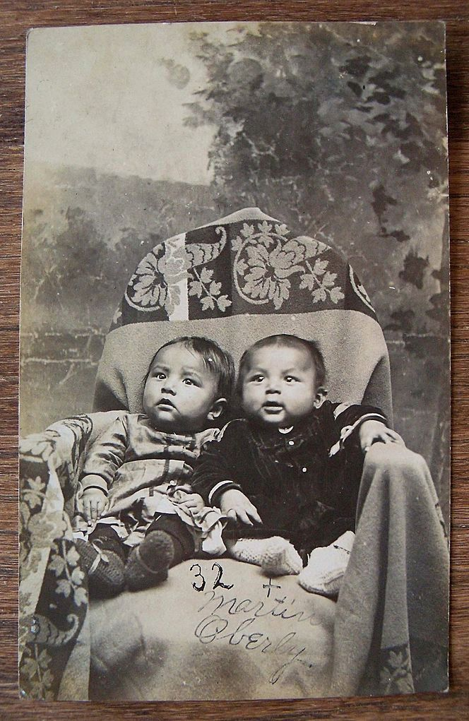 Native American Orphans Two Orphan Native American