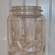 SALE Rare Vintage Schram Canning Fruit Jar