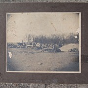SALE Early 1900's  Lumber Yard Sawmill Logging Photo