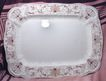Large Ridgways Brown Transferware Aesthetic Period Platter Beaufort Pattern 1890