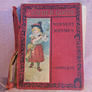 Book  Nursery Rhymes Complete Published by Charles E. Graham