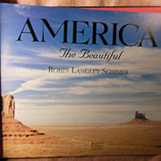 Book  America The Beautiful by Robin Langley Sommer