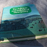 SALE Fabulous Book - The Folklore and Folklife of New Jersey