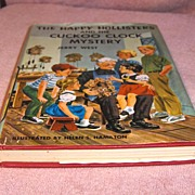SALE Book � The Happy Hollisters and The Cuckoo Clock Mystery by Jerry West