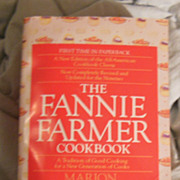 Cookbook � The Fannie Farmer Cookbook First Time in Paperback