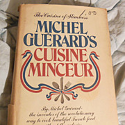 Cookbook � Michel Guerard�s Cuisine Minceur The Cuisine of Slimness