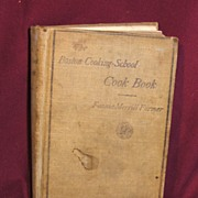 SALE Early Edition of the Boston Cooking-School Cook Book