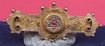 Vintage antique gold hallmarked1903 etruscian ruby & seed pearl brooch pin