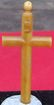 Vintage French bakelite cross pendant
