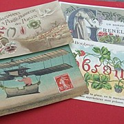 Vintage French Art Nouveau postcards