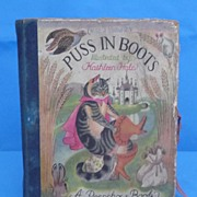 Puss in Boots by Kathleen Hale, Peepshow Book