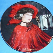 "Display Plate--""MUSETTA"" by Riccardo Benvenuti, Ltd. Edtn."