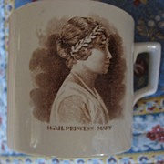 "British Royal Commemorative ""Princess Mary"" Mug"