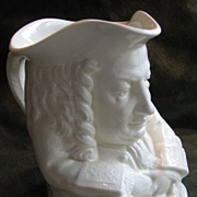 SALE Yale Wedgwood Ceramic Toby Jug of Eli Yale, Yale University -  1933