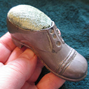 Vintage Man's Shoe Pin Cushion