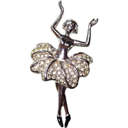 SALE Beautiful Ballerina Brooch
