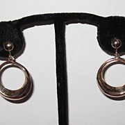 Vintage Hoop Earrings