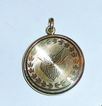 14K Gold Locket with Eagle and Shield Motif