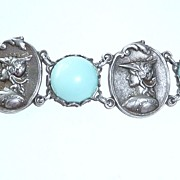 Wonderful Vintage Bracelet Cameo Heads