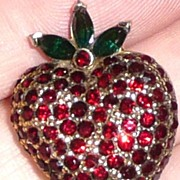 SALE Jomaz Fruit Pin Strawberry