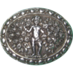 Vintage 800 Silver Cherub Brooch