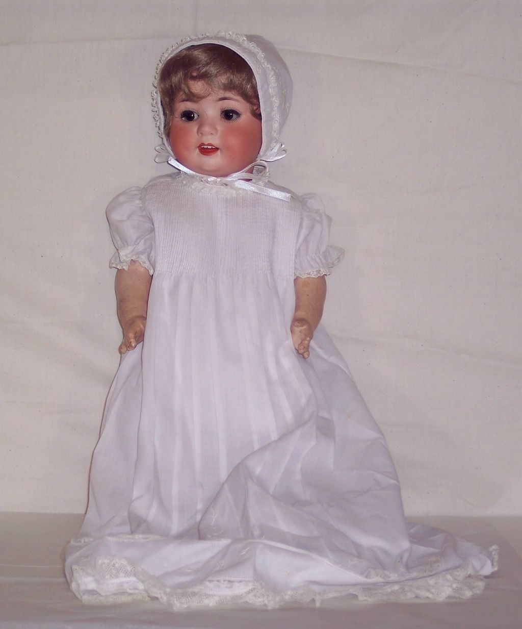 Ernst Heubach - German Bisque Doll – Early 1900's